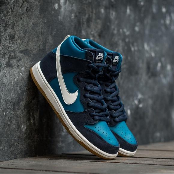 5ae1b012569 Nike SB Zoom Dunk High Pro Obsidian Blue  NEW